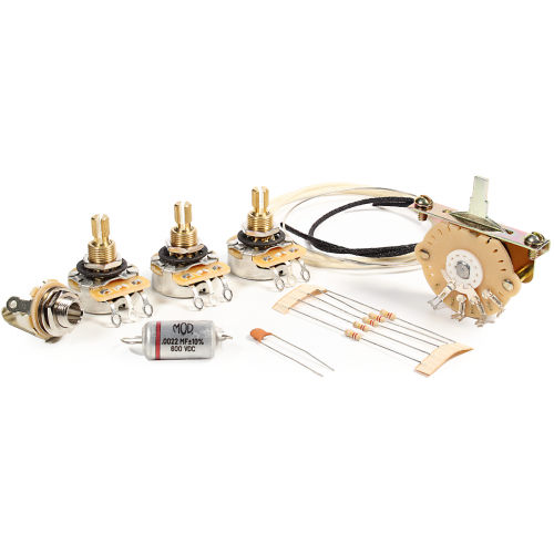 Guitar Wiring Upgrade Kit - Mod® Electronics, 5 Position Stratocaster image 1