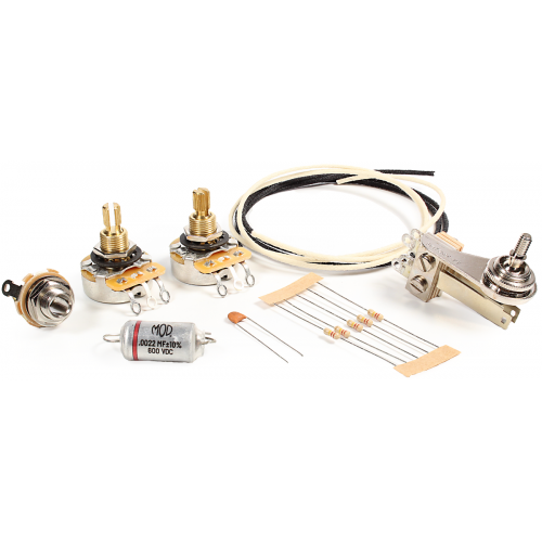 Guitar Wiring Upgrade Kit - Mod® Electronics, 3 Position PRS Style image 1