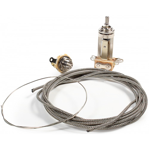 Guitar Wiring Upgrade Kit - Mod® Electronics, Les Paul Toggle Switch and Jack image 1