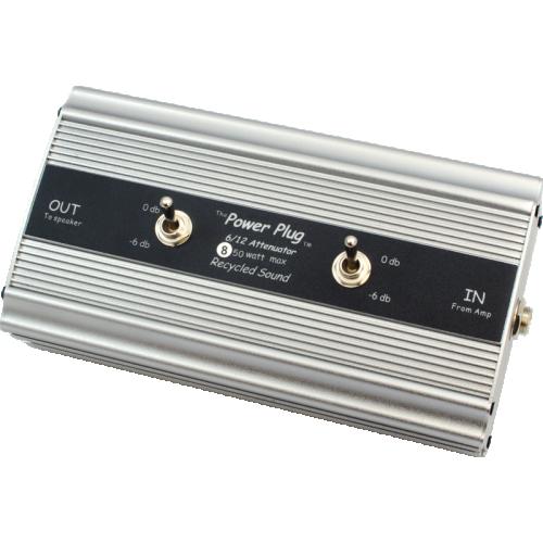 Attenuator - Recycled Sound, Power Plug 6 / 12, -6dB or -12dB image 1