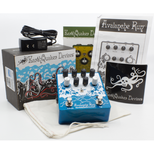 Effects Pedal – EarthQuaker Devices, Avalanche Run™, Stereo Reverb & Delay with Tap Tempo image 8