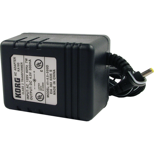 Power Supply - Korg, 4.5V, 500mA, Center Positive image 1