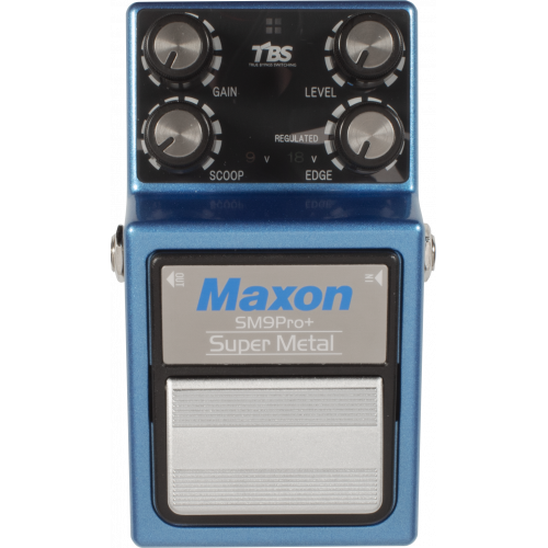 Effects Pedal - Maxon, SM9Pro+, Super Metal Pro Plus image 2