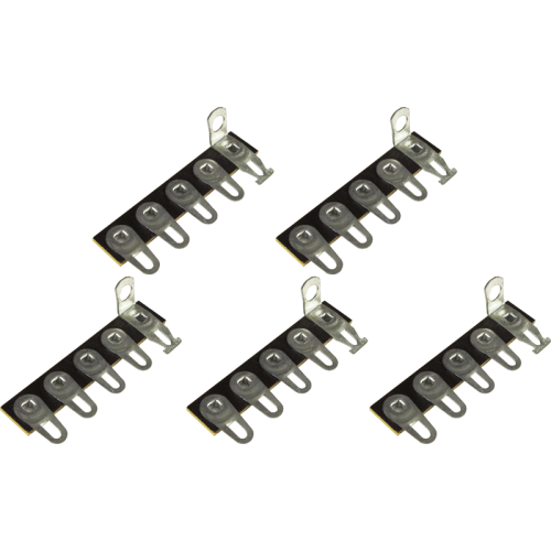 Terminal Strip - 5 Lug, 1st Lug Common, Horizontal, package of 5 image 2