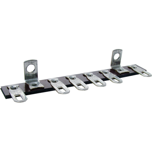 Terminal Strip - 6 Lug, 0 Common, Horizontal image 2