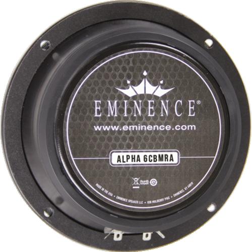 "Speaker - Eminence® American, 6"", Alpha 6CBMRA, 100W, 8Ω image 1"
