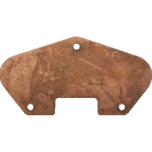 Baseplate - Tele, Vintage Correct, Cyanide Copper, USA image 1