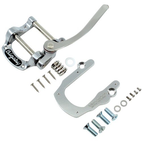 Vibrato - Bigsby, B5 Aluminum, for solid-body guitars, with Vibramate image 1