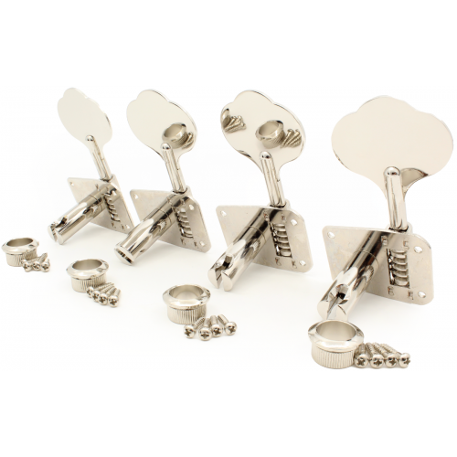 Tuners - Gotoh, GB10, for Bass, 4 In Line, Nickel image 2