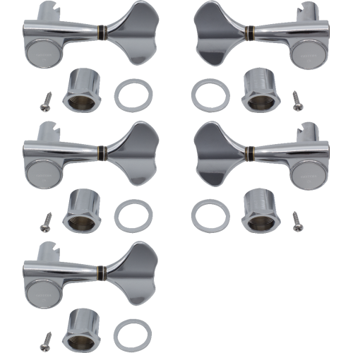 Tuners - Gotoh, Compact 707 for Bass, chrome, 3+2 image 1