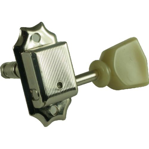 Tuners - Gotoh, Vintage-Style Locking, nickel, 3 per side image 2