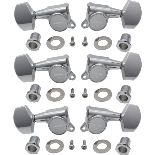 Tuners - Gotoh, Large Schaller-style Knob, 3 per side image 1