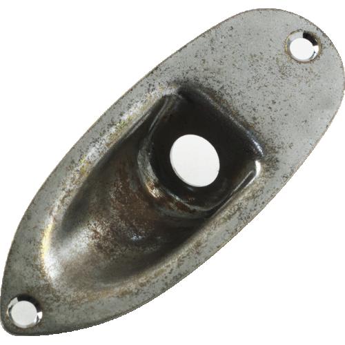 Jack Plate - Gotoh, Relic, Aged Chrome image 2