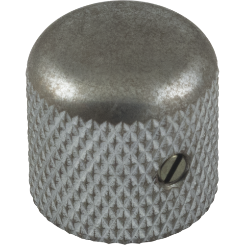Knob - Gotoh, Relic, Dome, aged chrome image 1