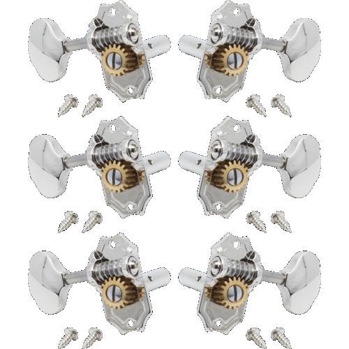 Tuners - Kluson, Prestige, Horizontal, 3 per side image 1