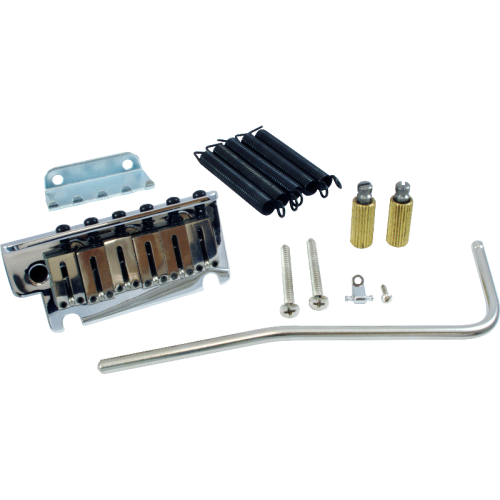 Tremolo - Fender, American Series, Strat Assembly, Deluxe, Chrome image 1