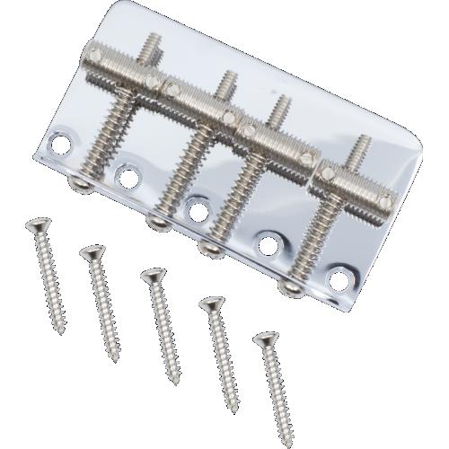 Bridge - Fender®, for Vintage American J-Bass / P-Bass, screws image 1