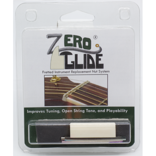 Nut - Gold Tone, Zero Glide Blank (Unslotted) image 1