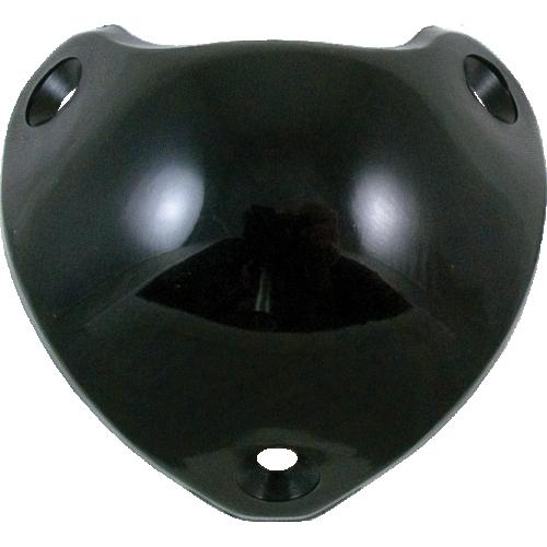 Corner - Marshall, Black Plastic, 3-Hole, Single Corner image 1
