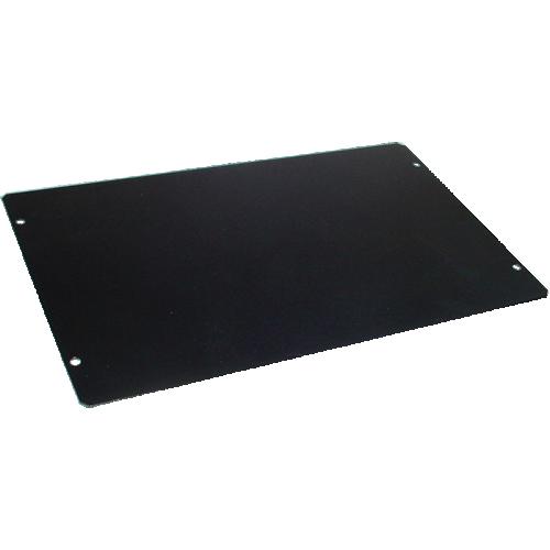 "Cover Plate - Hammond, Steel, 10"" x 6"", Black image 1"