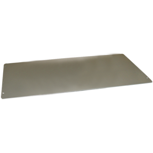 "Cover Plate - Hammond, Steel, 16"" x 8"", 20 Gauge image 1"