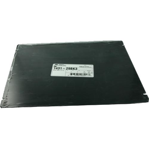 "Cover Plate - Hammond, Steel, 12"" x 10"", Black image 1"