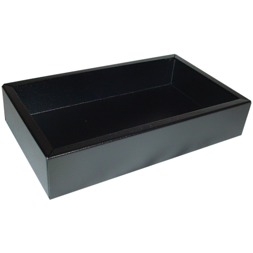 "Chassis Box - Hammond, Steel, 10"" x 6"" x 2"", Black image 1"