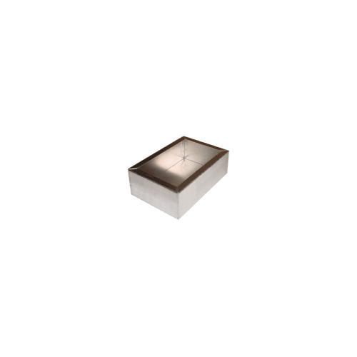 "Chassis Box - Hammond, Aluminum, 6"" x 4"" x 2"" image 1"