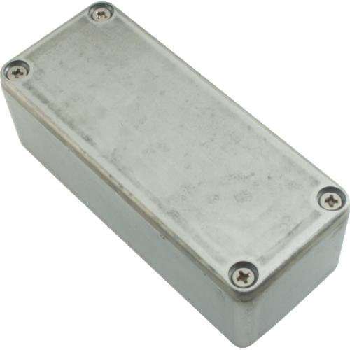 "Chassis Box - Unpainted Aluminum, 3.64"" x 1.52"" x 1.06"" image 1"