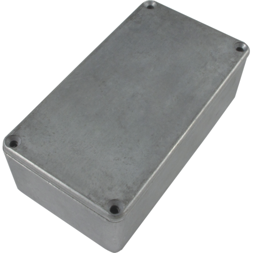 "Chassis Box - Hammond, 1590N1, Diecast, 4.77"" x 2.58"" x 1.41"" image 1"