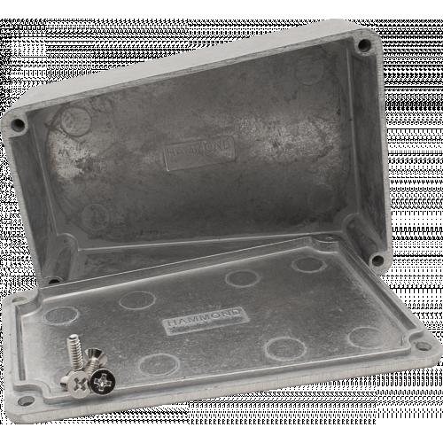"Chassis Box - Hammond, 1590TRPB, Short Trapezoid, 4.41 x 3.11 x 1.54"" image 3"