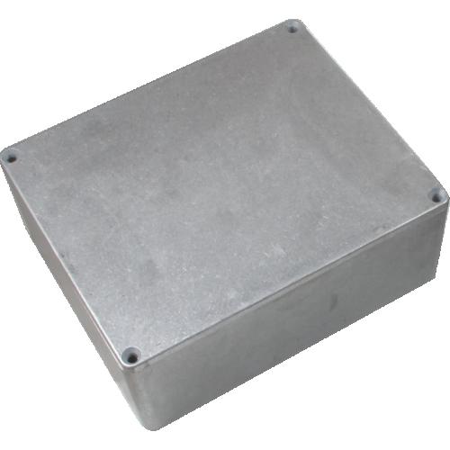 "Chassis Box - Hammond, 1590X, Diecast, 5.72"" x 4.77"" x 2.06"" image 1"