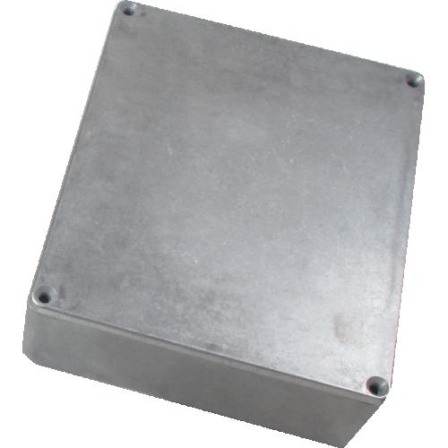 "Chassis Box - Hammond, Unpainted Aluminum, 5.3"" x 4.4"" x 1.5"" image 1"