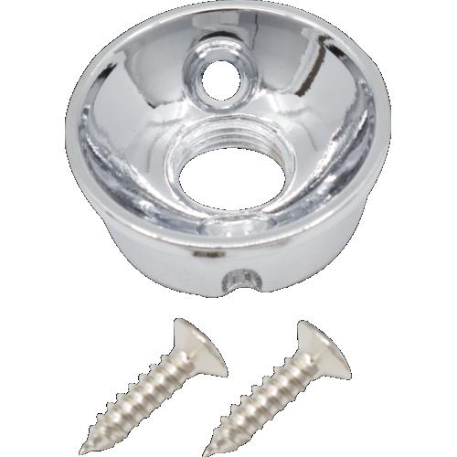 Jack Plate - Electrosocket, for Tele, Anodized Aluminum image 1