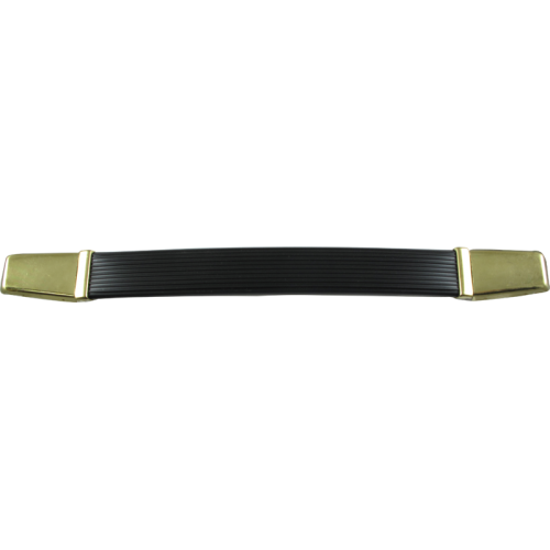 Handle - Marshall Style, Black Vintage, Gold Caps, Large image 1