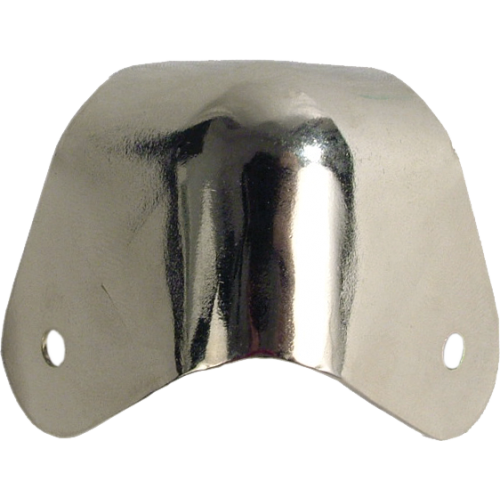 Corners - Fender, for amplifier, Nickel, 2-Hole with hardware image 3