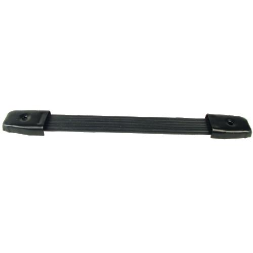"Handle - Black plastic strap, Black Caps, adjustable 8"" - 8.75"" image 1"
