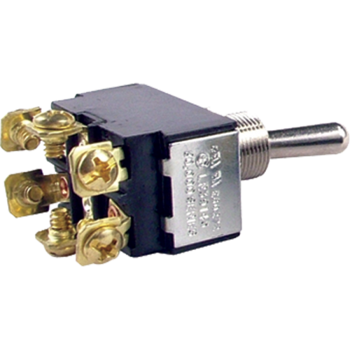 Switch - Toggle, DPDT, 3 Position, On-Off-On image 1