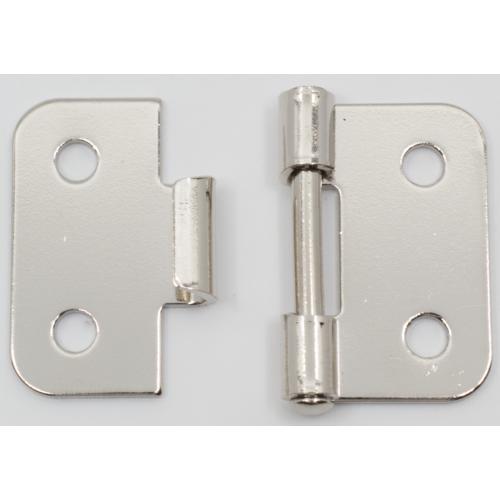 Handle Hinge - Nickel, metal construction, Lift Off image 2