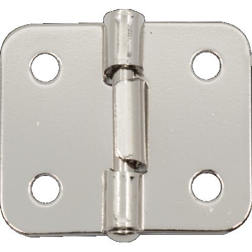 Handle Hinge - Nickel, metal construction, Lift Off image 1