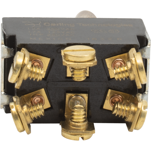 Toggle Switch - Carling, DPDT, 2 Position, On-On, Terminals image 2
