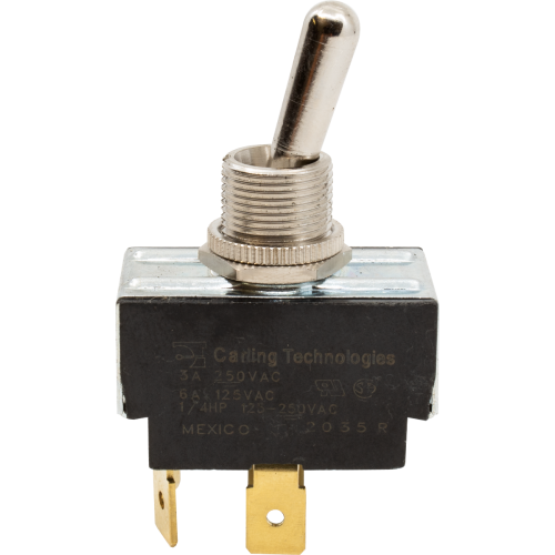 Switch - Carling, Toggle, DPST, On-Off, Tabs, 6A image 1