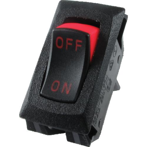 Switch - Carling, Mini Rocker, SPST, On-Off, 16A, 125VAC image 1