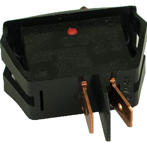 Switch - Carling, Mini Rocker, SPST, 16A, 125VAC image 3
