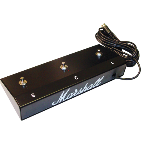 Footswitch - Marshall, Three Button (1, 2, 3), LED image 1