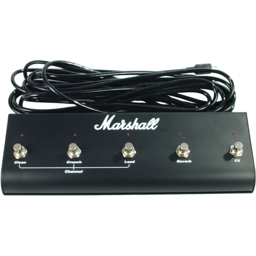 Footswitch Box - Marshall, 5 Button with LED image 1
