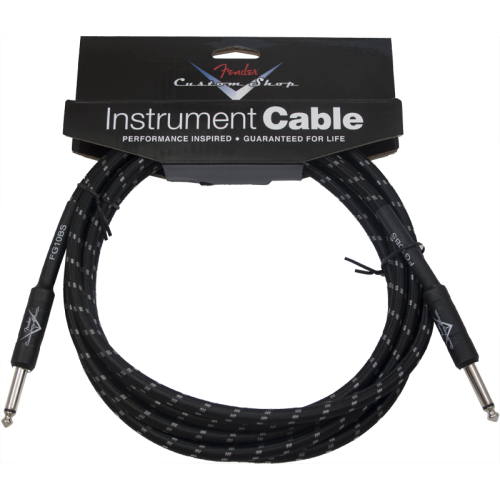 Cable - Original Fender, Custom Shop, Instrument, Black Tweed image 1