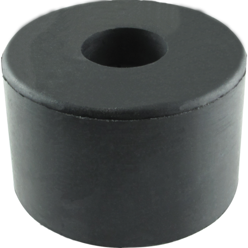 "Foot - Rubber, 1.5"" diameter x 1"" tall, with metal washer image 1"