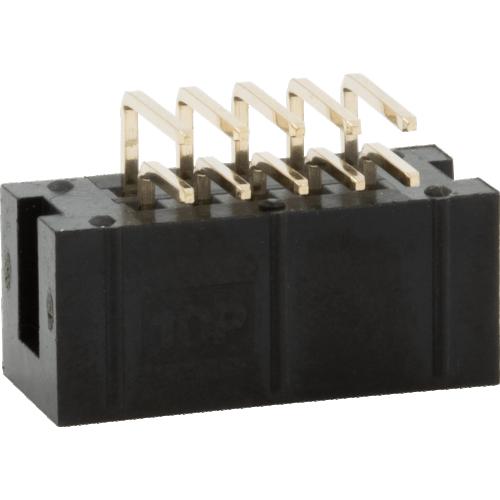 Box Header - Shrouded, 10 Pin, Right Angle image 3