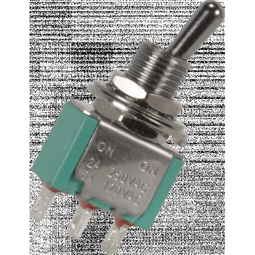 Switch - GØRVA, Mini Toggle, SPDT, 2 Position, Solder Lugs, Medium Bat image 2
